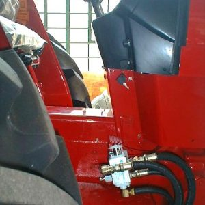 Brake Kit installed to fit most tractors